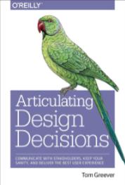 Articulating design decisions book
