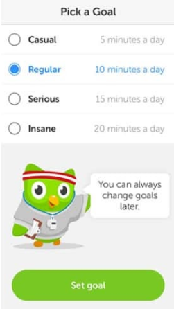 Duolingo - first